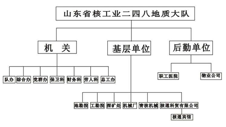 组织机构设计图